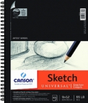 Canson Universal Sketch Pad Uncoated Paper for Alternative Process - 9x12/100 Sheet Pad