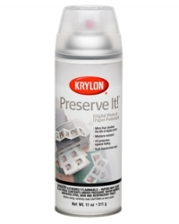 Krylon Preserve It Clear Gloss Spray Can - 11 oz.