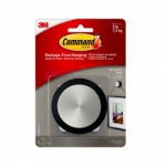 3M Command™ Decorative Brushed Nickel Round Knob For Picture Hanging