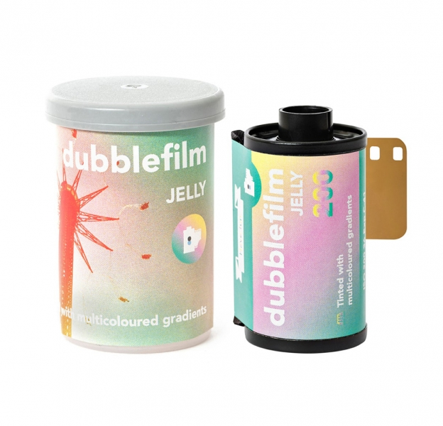 Dubblefilm Jelly 200 ISO 35mm x 36 exp.