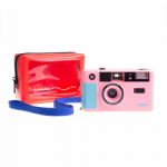 Dubblefilm SHOW 35mm Reusable Camera with Flash - Pink