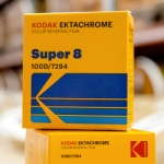 Kodak Ektachrome 100D Color Transparency Film Super 8mm x 50 ft. Cartridge - 7294