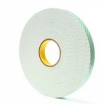 3M Double Coated Urethane Foam Tape #4016 - 1 in. x 36 yds.