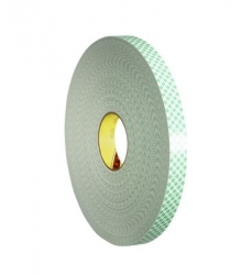3M Double Coated Urethane Foam Tape #4032 - 1/2 in. x 72 yds.