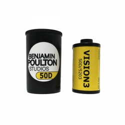 Kodak VISION3 50D Movie Film 35mm 36 exp. (produced by BPS)