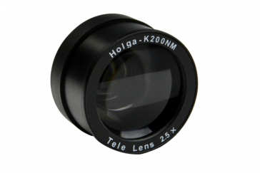 Holga 2.5x Telephoto Adapter Lens for K-200NM 35mm Camera