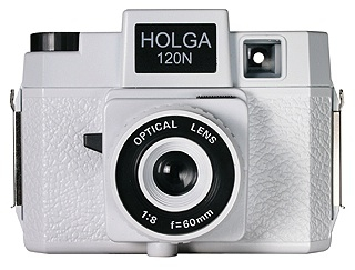 Holga 120N Plastic Medium Format Camera - White