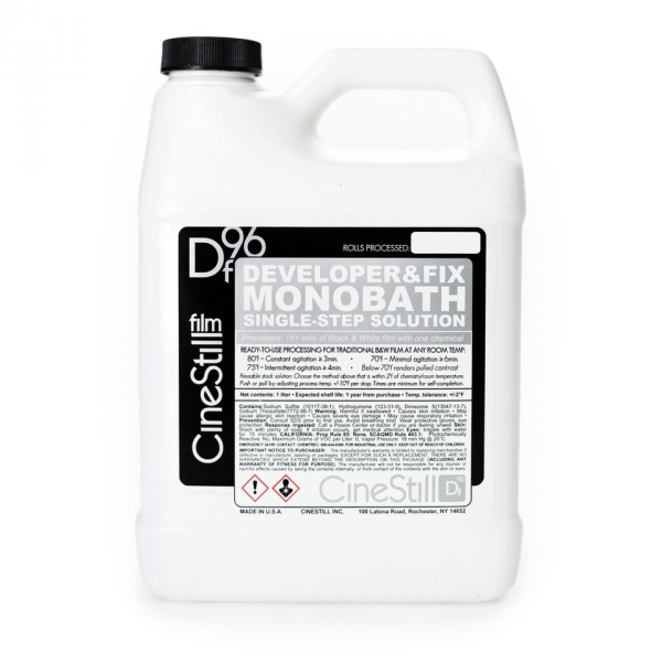 CineStill Df96 Monobath for B&W Film - 1 Quart