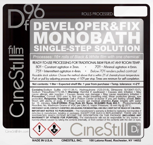 CineStill Df96 Monobath for B&W Film - 1