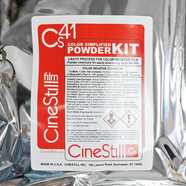 CineStill Cs41 Liquid Developing Kit
