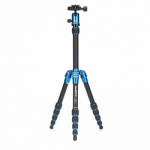 MeFoto Metallic BackPacker Travel Tripod - Blue
