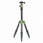 MeFoto Metallic BackPacker Travel Tripod - Green