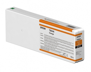 Epson UltraChrome HDX Orange Ink Cartridge (T834A00) for Epson P Series Printers - 700ml
