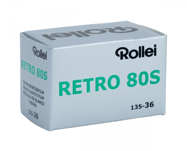 Rollei Retro 80S 80 ISO 35mm x 36 exp.