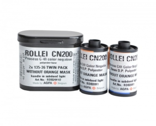 Rollei Digibase CN200 Pro (C-41 Process) 35mm x 36 exp. - 2 Roll Pack