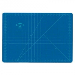 Alvin HM Series Blue/Gray Self-Healing Hobby Mat - 8.5 in. x 12 in.