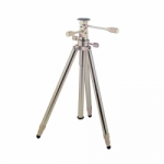 Tiltall Tripod TE Original Series Tripod with 3-Way Head (Silver)
