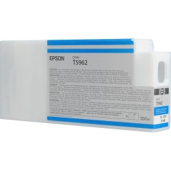 Epson UltraChrome HD Cyan Ink Cartridge (T596200) for P Series Printers  - 350ml