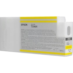 Epson UltraChrome HD Yellow Ink Cartridge (T596400) for P Series Printers - 350ml