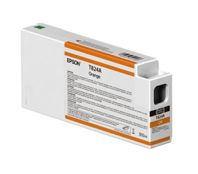 Epson UltraChrome HDX Orange Ink Cartridge (T596A00) for P Series Printers - 350ml