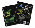 Itoya PolyGlass Refill Pages for Multi-Ring Album - 8.5x11/10 pages