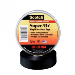 3M Scotch® Super 33+ Vinyl Electrical Tape - 3/4 in. x 44 ft.
