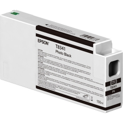 Epson UltraChrome HD Photo Black Ink Cartridge (T834100rt) For P Series Printers - 150ml