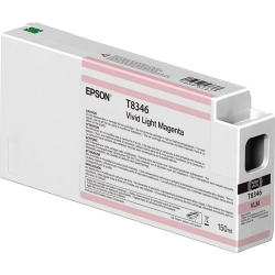 Epson UltraChrome HD Vivid Magenta Ink Cartridge (T834600) for P Series Printers -150ml