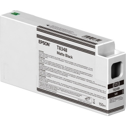 Epson UltraChrome HD Matte Black Ink Cartridge (T834800) for P Series Printers - 150ml