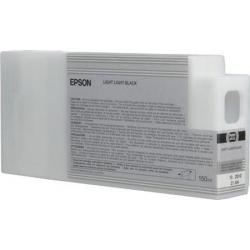 Epson UltraChrome HD Light Light Black Ink Cartridge (T834900) for P Series Printers - 150ml