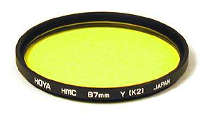 Hoya Filter HMC Yellow K2 67mm