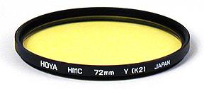 Hoya Filter HMC Yellow K2 72mm