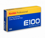 Kodak Ektachrome E100D 100 ISO 120 Size - 5 Pack