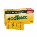 Kodak TMAX 400 ISO 120 Size TMY (Single Roll Unboxed)