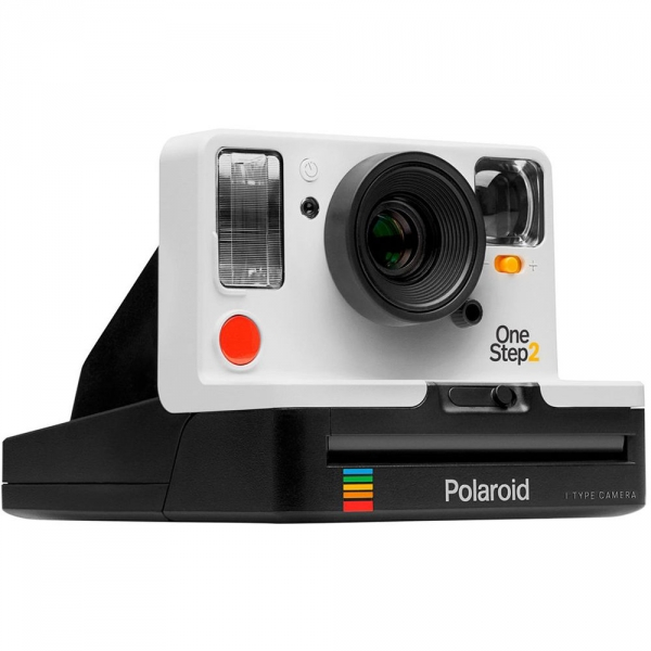 Polaroid OneStep 2 i-Type Camera w/ Extended View Finder - White