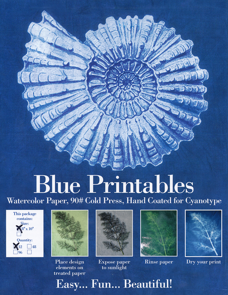 graphic regarding Printable Watercolor Paper named Blueprint Printables Structure Print Pre-Lined Cyanotype