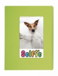 Skutr Selfie Photo Album for Instax Mini Photos - Small (Lime Green)