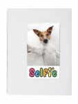 Skutr Selfie Photo Album for Instax Mini Photos - Small (White)