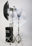 JTL DL-600 Mobilight Strobe Kit with 2 Versalight D-301 (300 Watt) Monolights