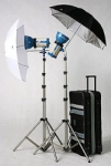 JTL DL-720 Verslight Strobe Light Kit with 2 E-360 Monolights (360 Watts)
