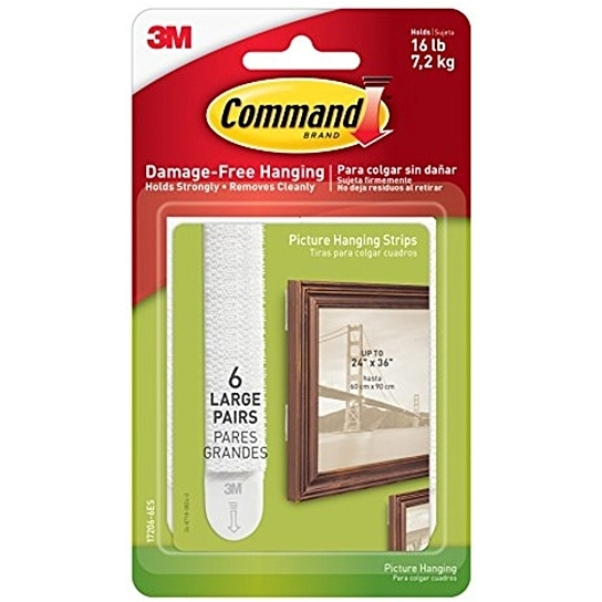 3M Command™ Large Picture Hanging Strips - 6 pack