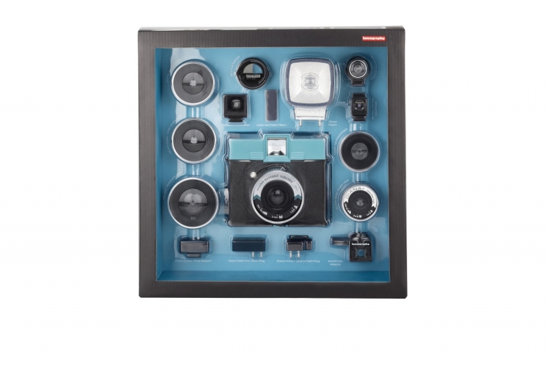 Lomography Instant Square Deluxe Kit with Flash, Lenses, & Filters