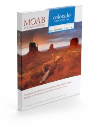Moab Colorado Fiber Satine Inkjet Paper - 245gsm 44 in. x 50 ft. Roll