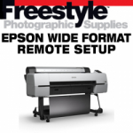 Freestyle Remote Setup - Epson Wide Format Printer