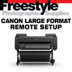Freestyle Remote Setup - Canon Large Format Printer (includes calibration paper)