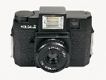 Holga 120GFN Plastic Medium Format Camera Glass Lens with Built-in Flash