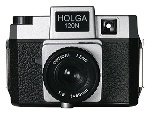Holga 120N Medium Format Plastic Camera Holgawood Collection - Twi-Lite Zone (Silver/Black)