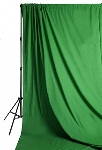 Savage Accent Solid Muslin Background 10 foot by 24 foot Chroma Green