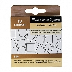 Canson Self Adhesive Photo Mount Squares 1/2