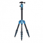 MeFoto Metallic Travel Tripod - Blue